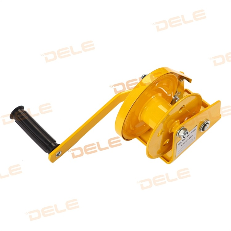 Yellow Colour Cable Series Hand Winch Tool pictures & photos