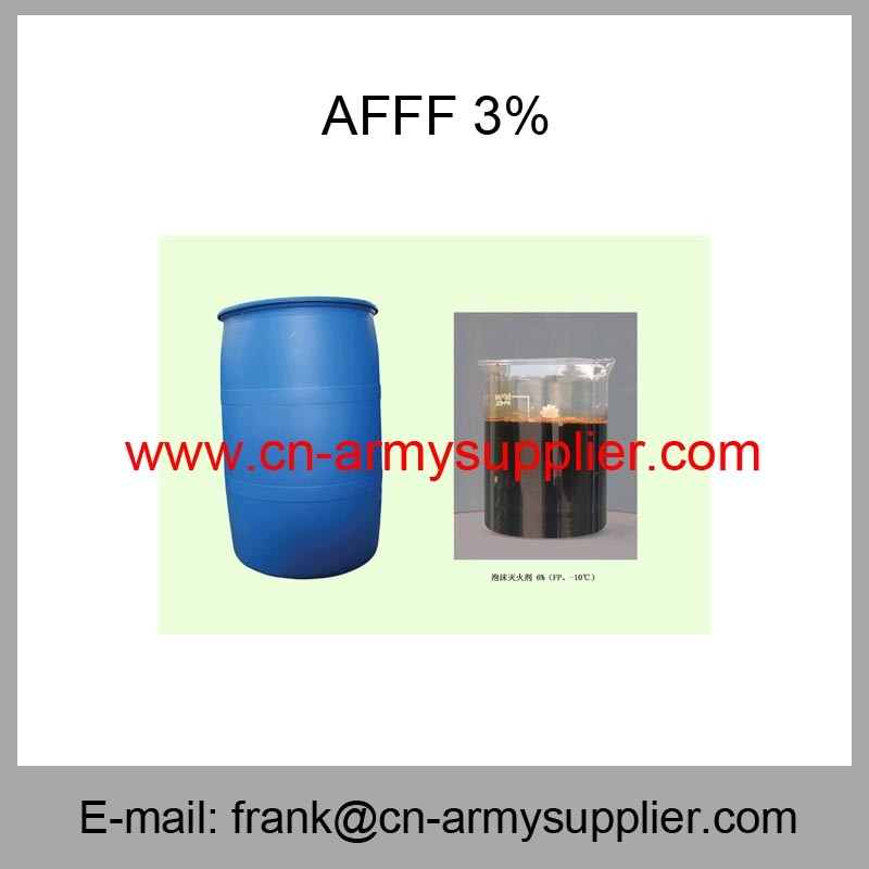 Afff 1%-Afff 3%-Afff 6%-Afff Aqueous Film Forming Foam Extinguishing Agent