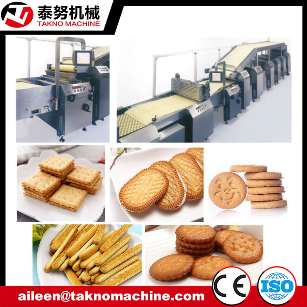 Complete Automatic Small Biscuit Making Machine pictures & photos