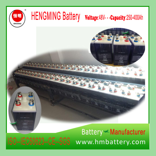 Hengming 48V250ah (1.2VKPM250) Pocket Type Nickel Cadmium Battery Kpm Series (Ni-CD Battery) Rechargeable Battery