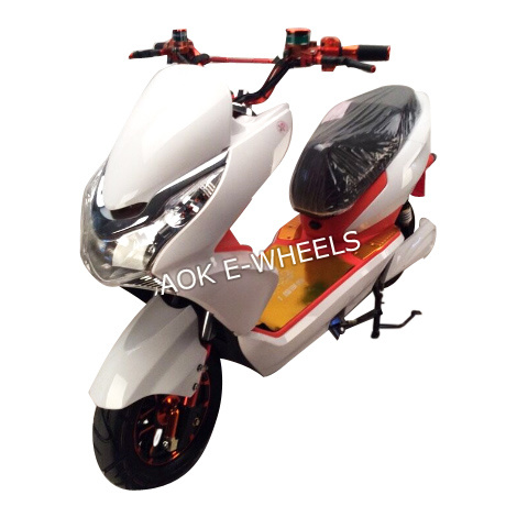 Cool Electric Racing Motorcycle With Disk Brakes Em 003