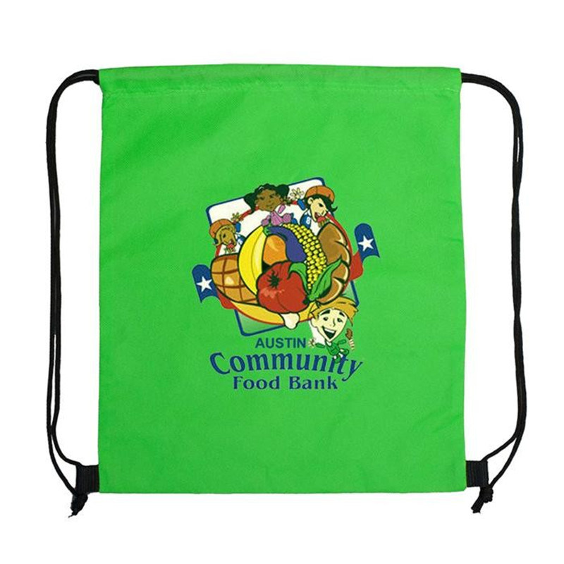 Fashion Eco Friendly Advertising Non Woven Drawstring Bag pictures & photos