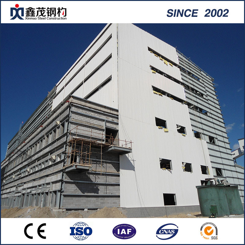 China Prefabricated Steel Structure Building with Steel Structure ...