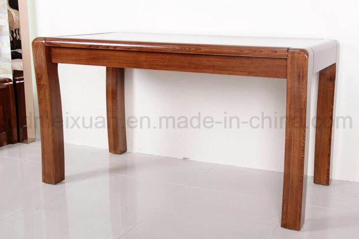 Solid Wooden Dining Table Living Room Furniture (M-X2880)