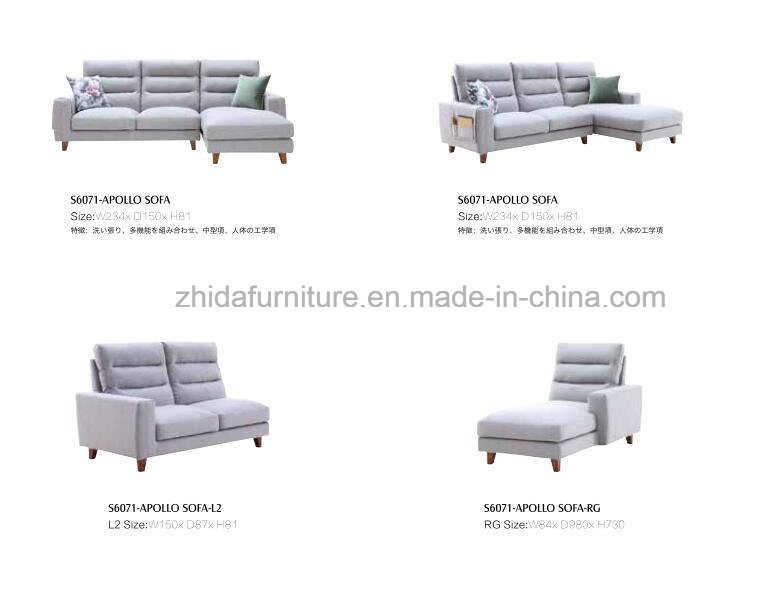 Hot Sell Sectional Sofa Modern Style S6071