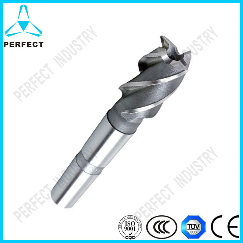 HSS CNC Carbide Coated Shank End Mill Router Bit Cutter Single Flute Rotary Tool