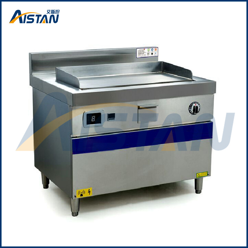 China High Heating Efficiency Commercial Kitchen Induction Griddle ...