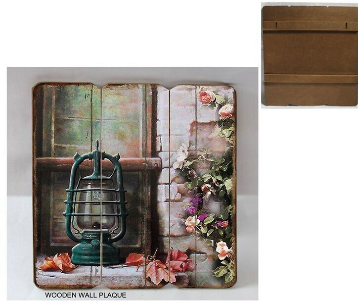 Chic Wood Trim Brand Wooden Plaque Home/Love Theme Series Decoration pictures & photos