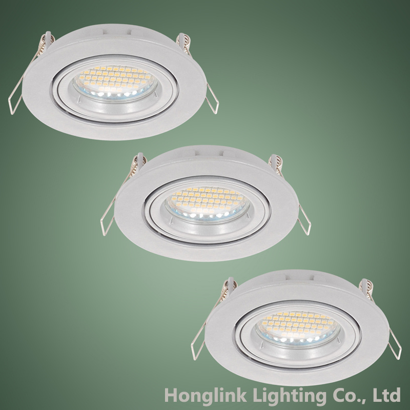 buy popular ad6ea e779e [Hot Item] Twist Lock Ring Tilt Aluminum GU10 MR16 LED Recessed Ceiling  Light Fixture Downlight