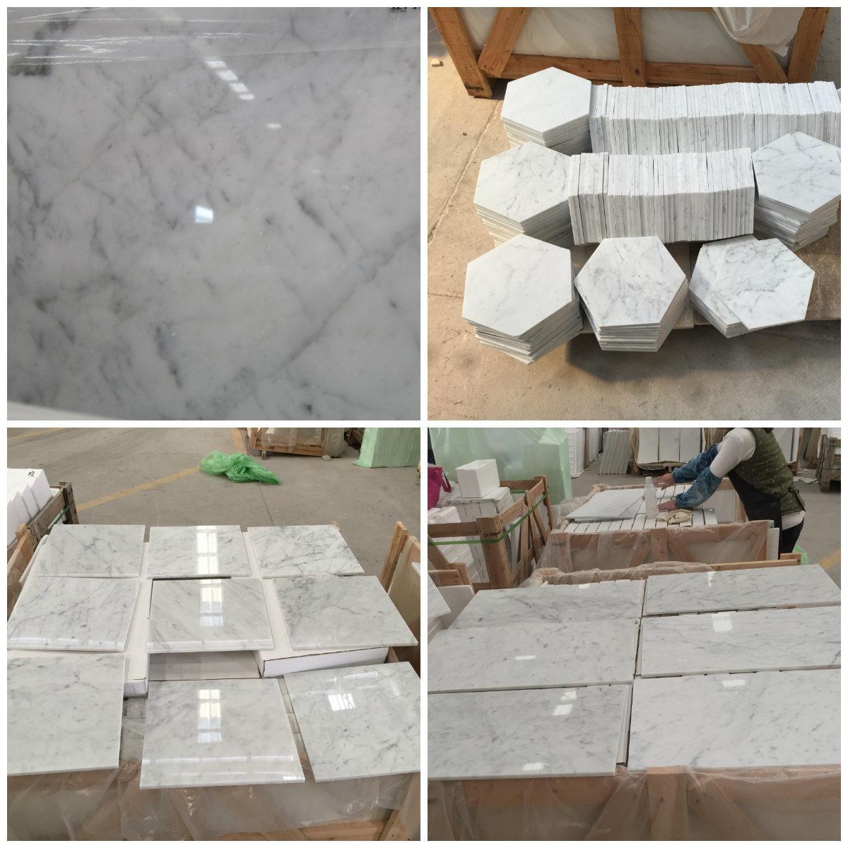 China Bianco Carrara Statuario White Marble for Laminate Flooring Stone  Tiles - China Cheap Price Tiles, Discount Marble Tiles