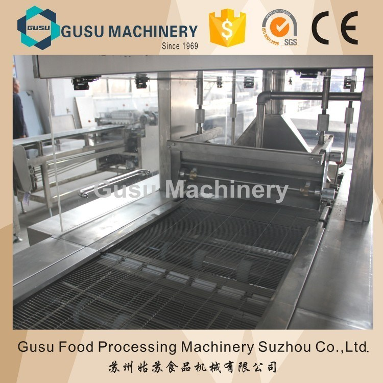 Ce Certified Professional Chocolate Enrober China Factory (TYJ600)