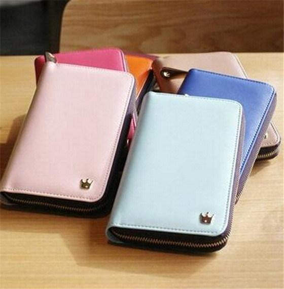 4add7395b661a China Korean Designer Smartphone Zip Card Purse Wallet Photos ...