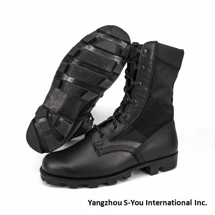 Quality Genuine Leather Military Shoes