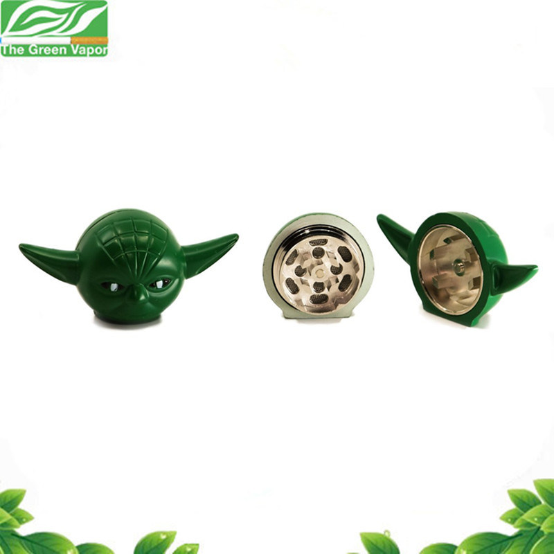 "Latest Yoda Shape Star Wars Spice Grinder 1.2"" (30mm) 3 Piece pictures & photos"