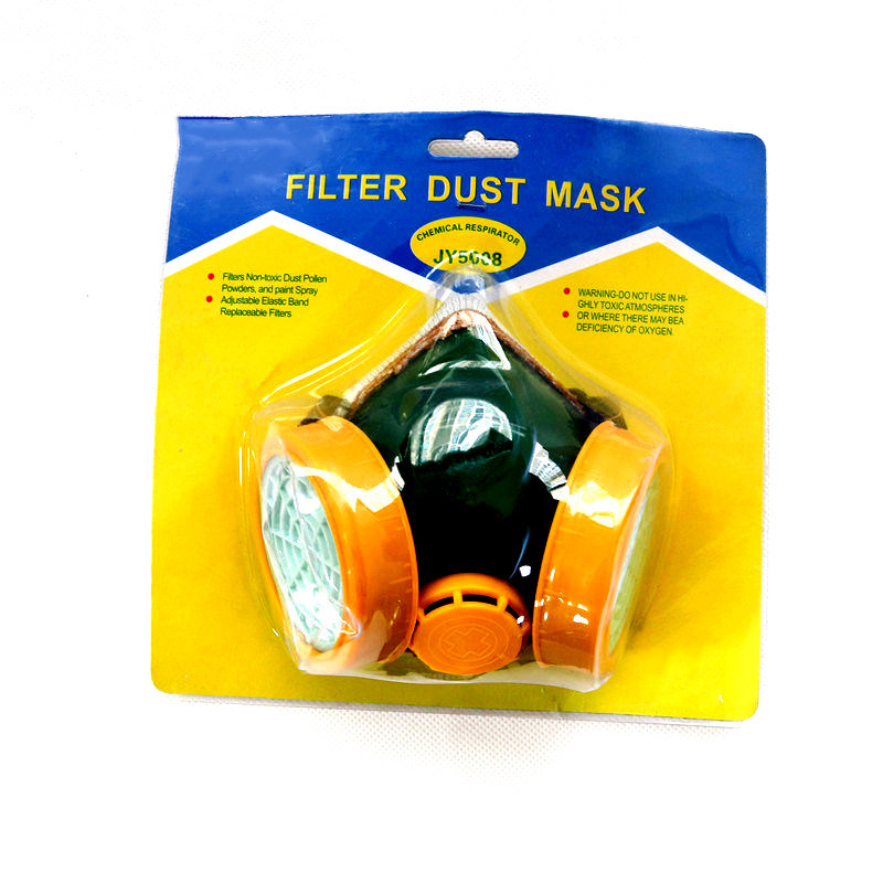 China Chemical Respirator Gas Mask Adjustable Elastic Band Photos