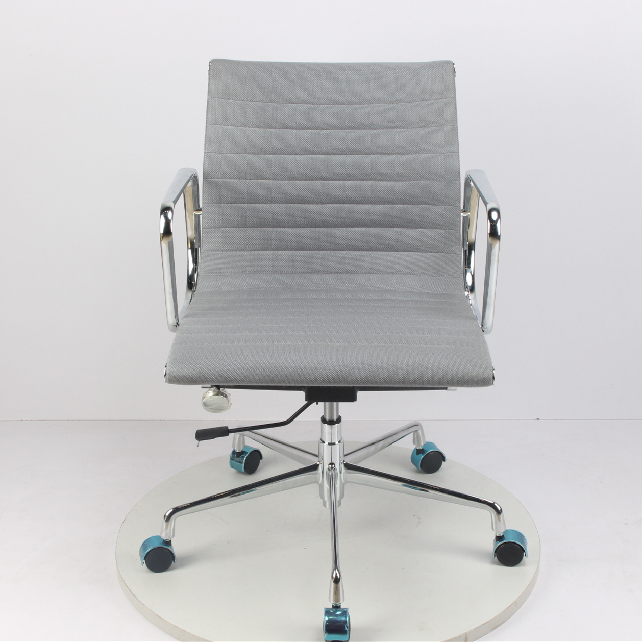 Linen Midback Office Chair