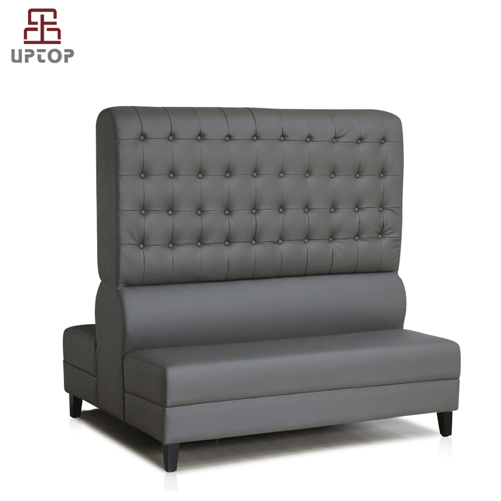 [Hot Item] (SP-KS264) Custom Modern High Back Salon Furniture Leather Sofa