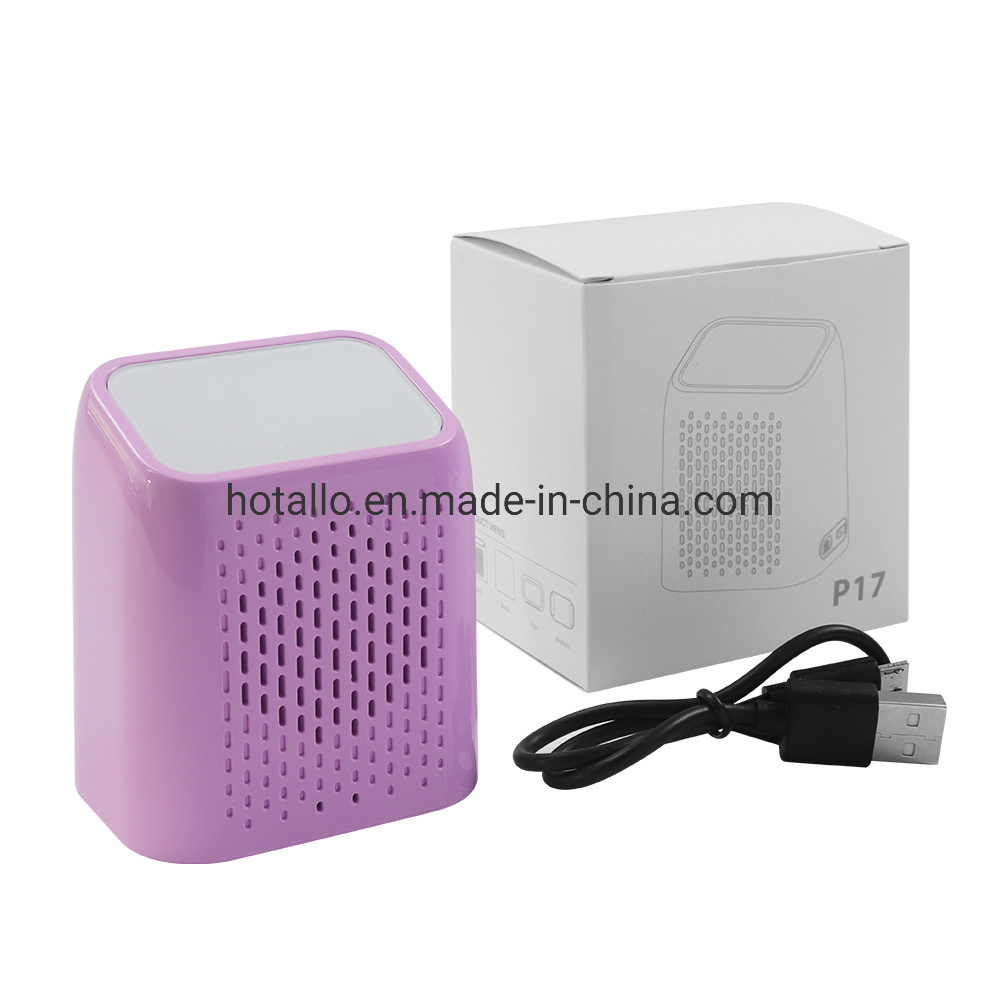 Colorful P17 Hotsell Portable Bluetooth Speaker with Light up Logo in Small Size pictures & photos