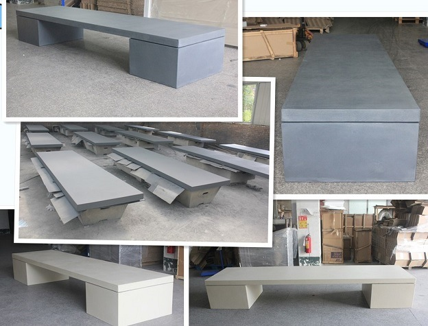 China High Performance Cast Concrete Grc Outdoor Furniture ...