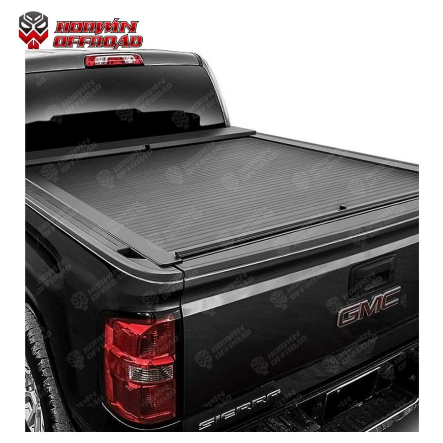 China Electric Retractable Hard Tonneau Cover Option For Pickup Truck China Tonneau Cover Electric Bed Cover