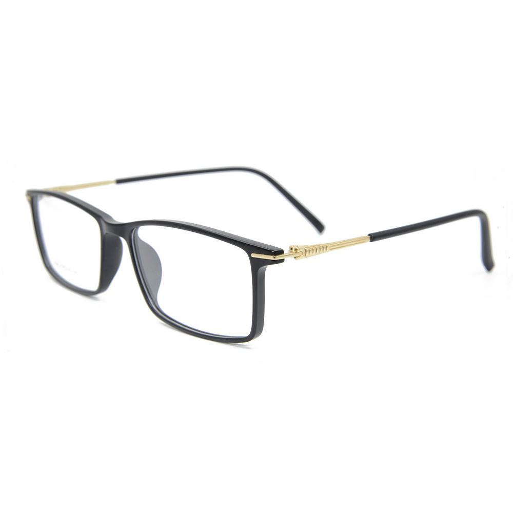 fffda9ed15 2018 Factory Custom New Fashion Tr90 Frames Square Light Optical Glasses  Frame for Men