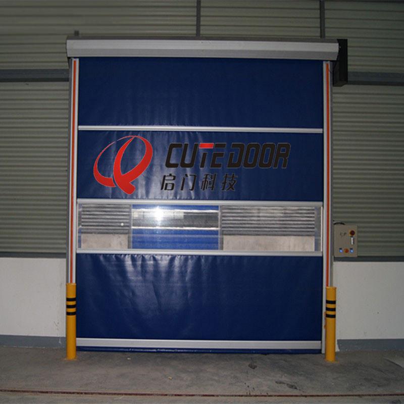 China Aluminum Door Frame Rolling Shutters Interior PVC Plastic ...