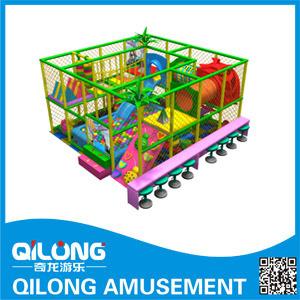 China Popular Fast Food Kids Indoor Playground Equipment Ql 3092c