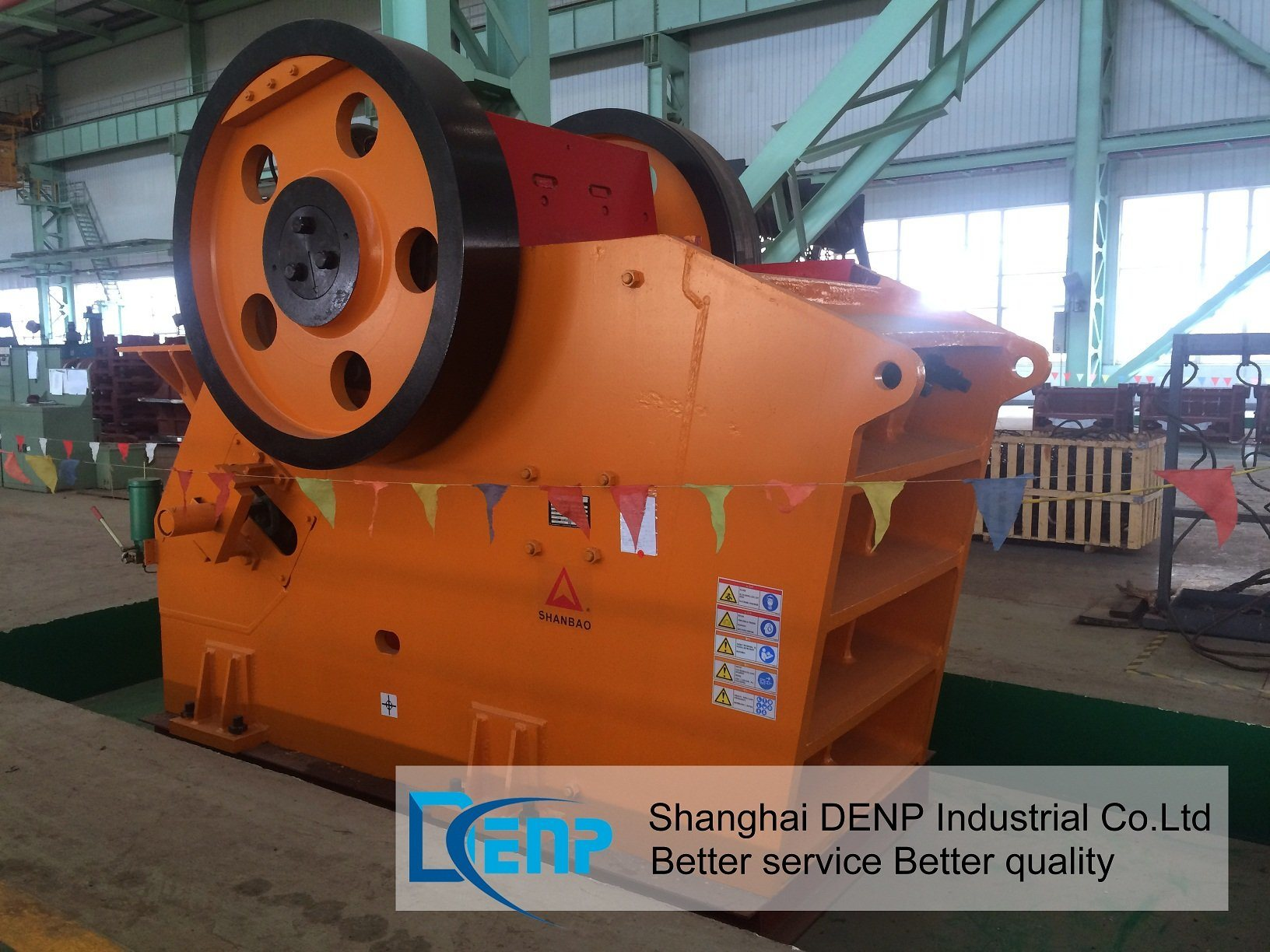 Shnnbao Jaw Crusher From Shanghai Jianshe Road Bridge Machinery Co, Ltd pictures & photos