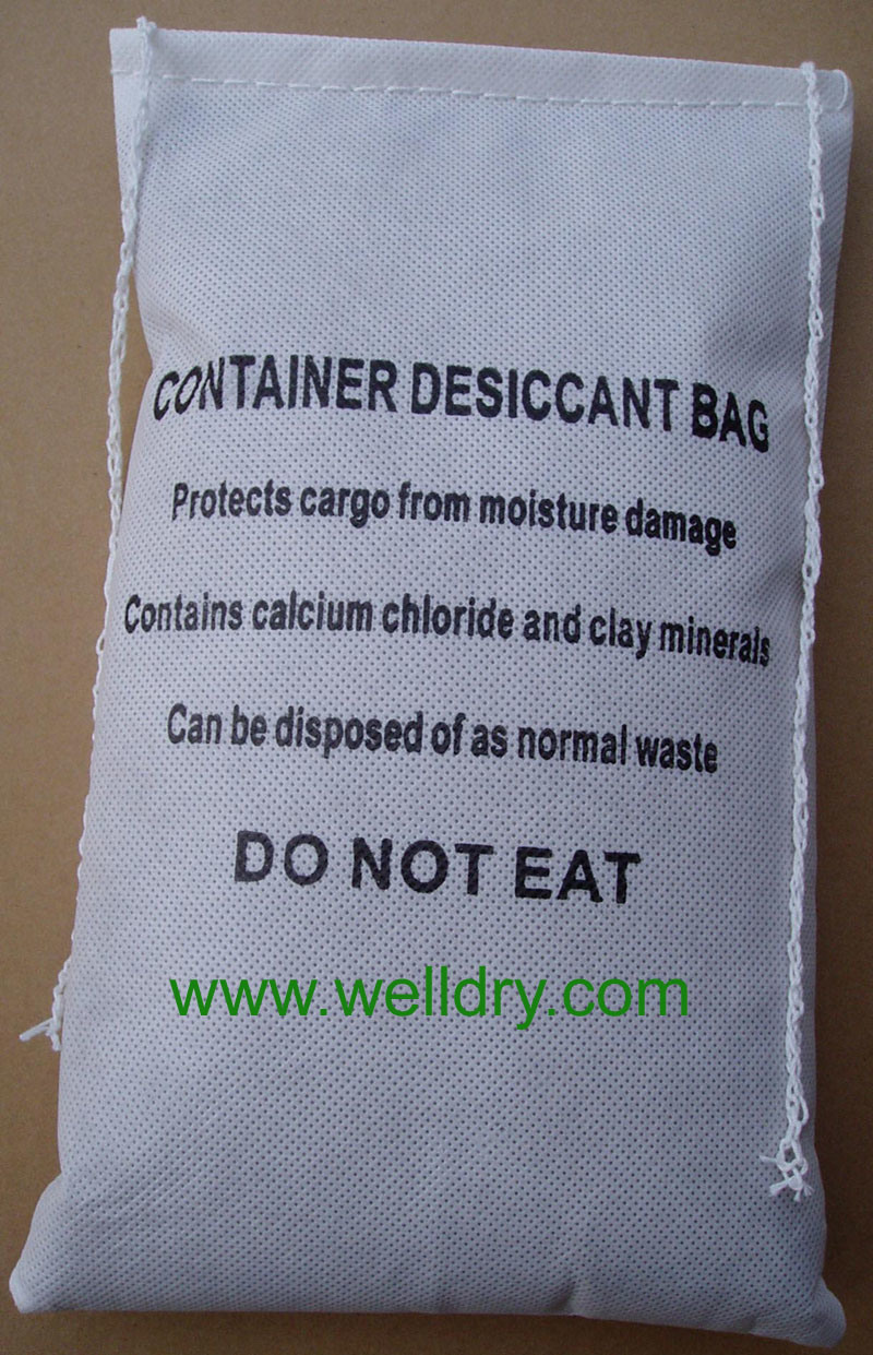China Enough 2kg Container Desiccant Bag Sewn Pp Non Woven Without Hook