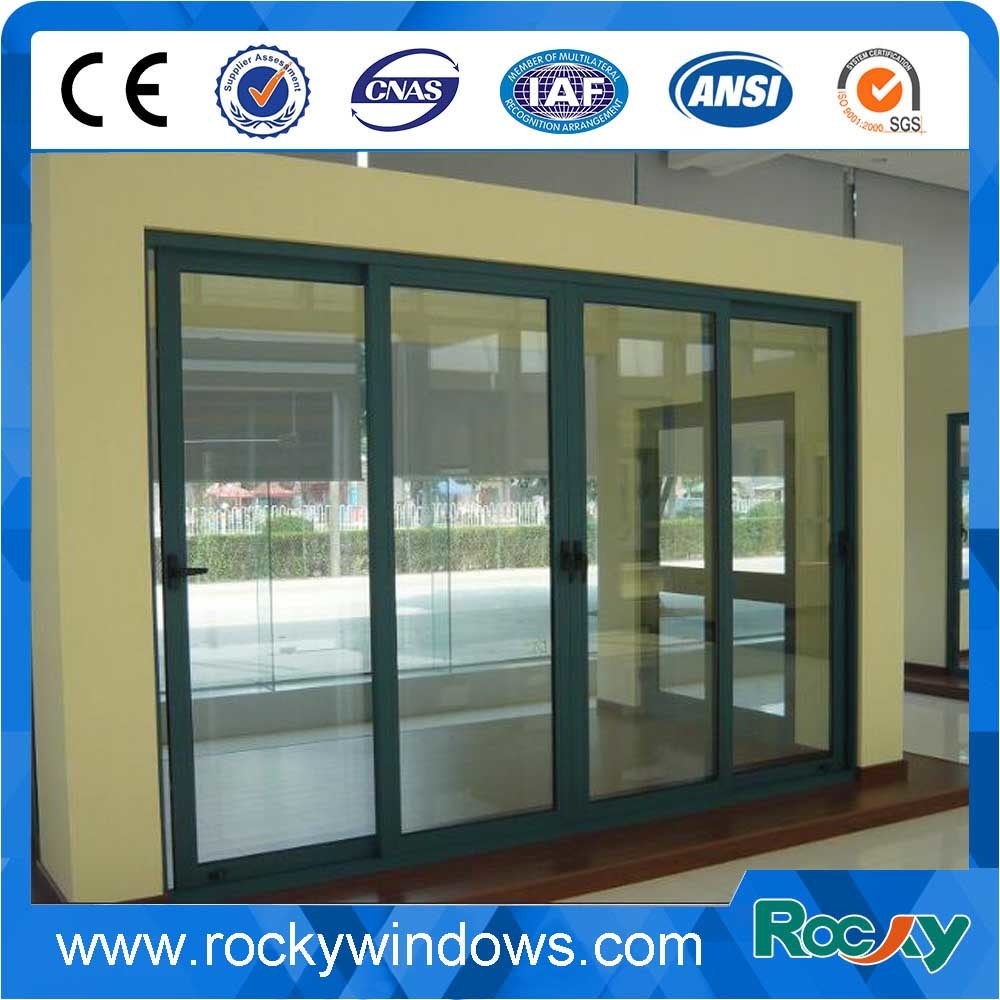 China as Ral Color Aluminum Sliding Door with Double Glass - China ...