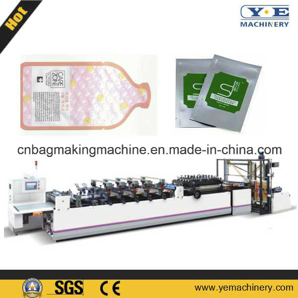 Automatic Plastic Zd-600ts Three Side Sealing Pouch Bag Making Machine pictures & photos