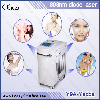 Y9 Super Quality 808 Diode Laser for Permanent Hair Removal