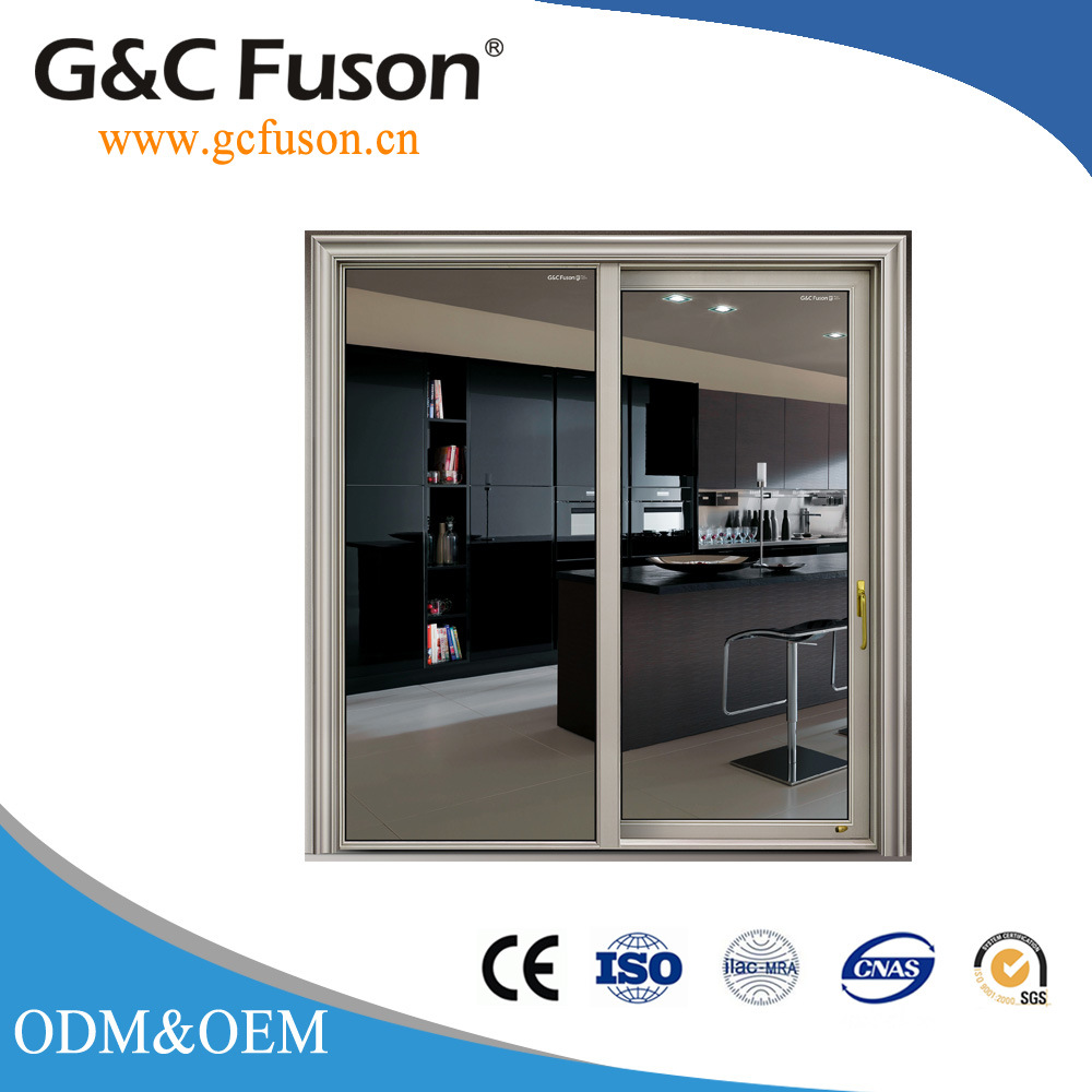 China Guangdong Aluminium Sliding Door With Mosquito Net China