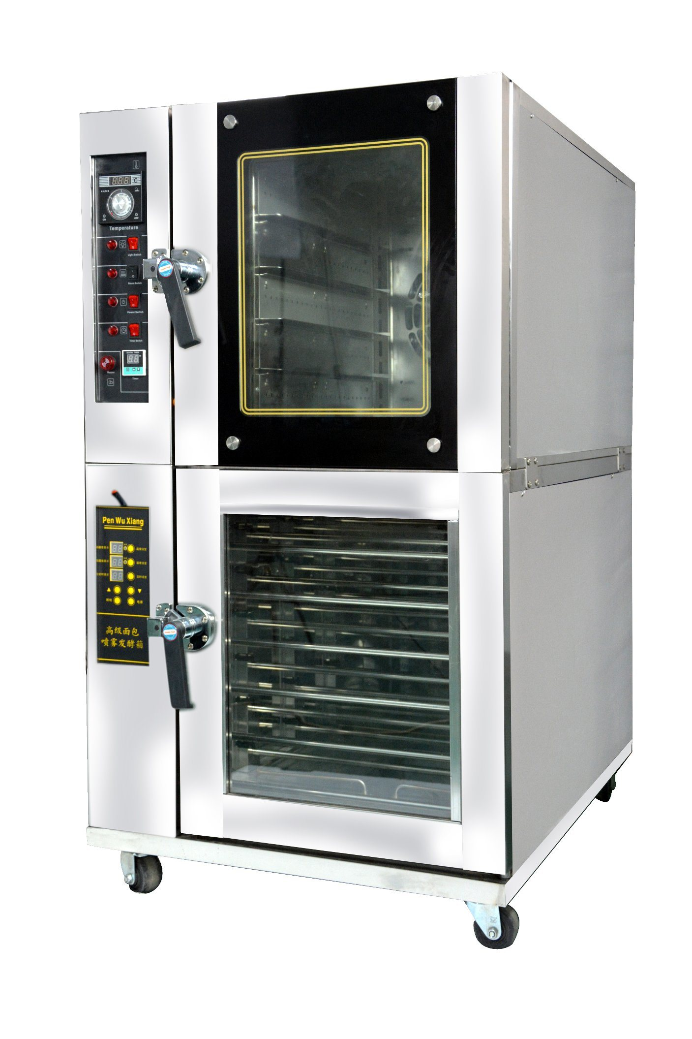 China Commercial Combi Oven with Computer Controll Panel High ...