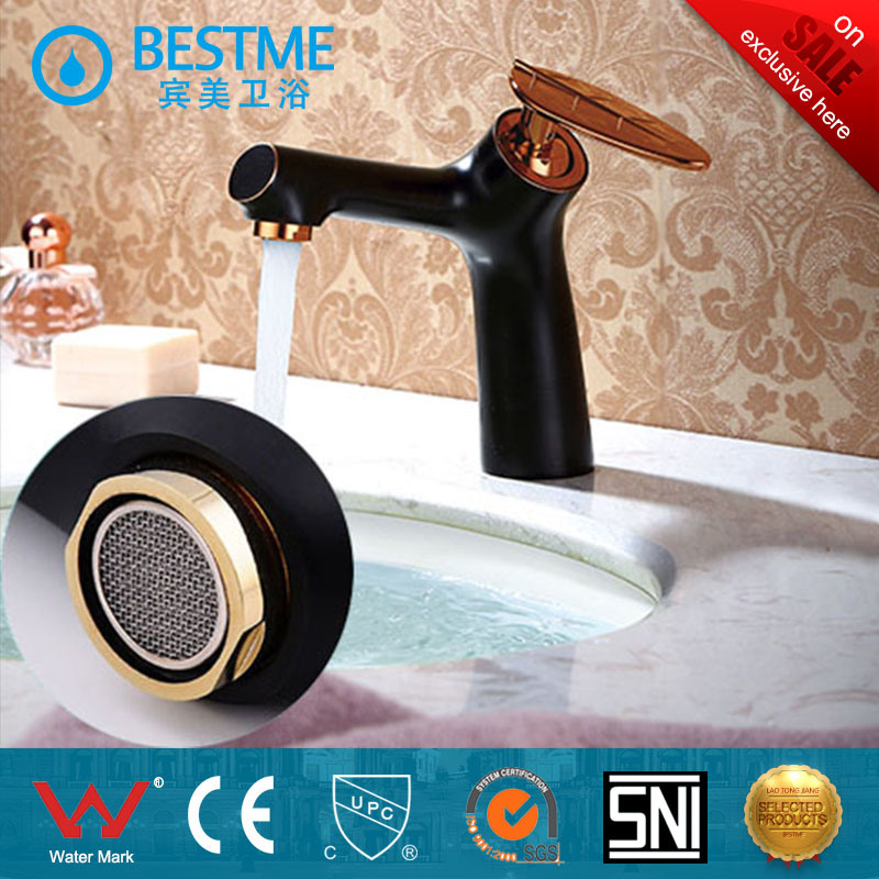 2017 New Design Black Color Brass Basin Faucet (BM-B10085K) pictures & photos