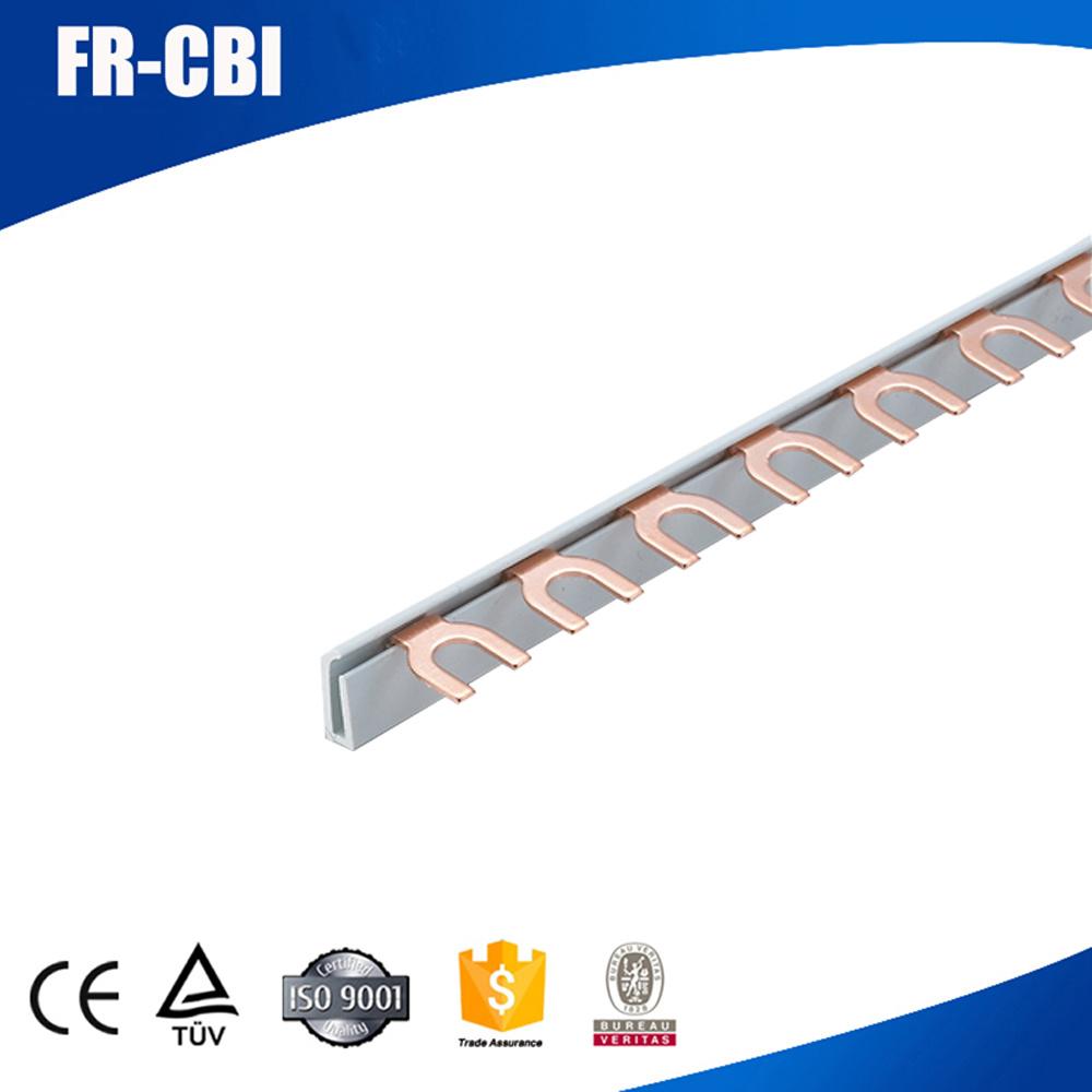 China Copper Fork U Type Circuit Breaker Bus Bar Insulator Connector Terminal Block Wiring Board Busbar