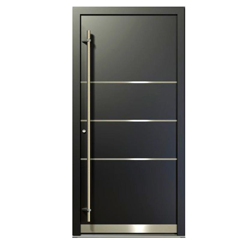 China Gold Supplier Front Door Designs Aluminum Security