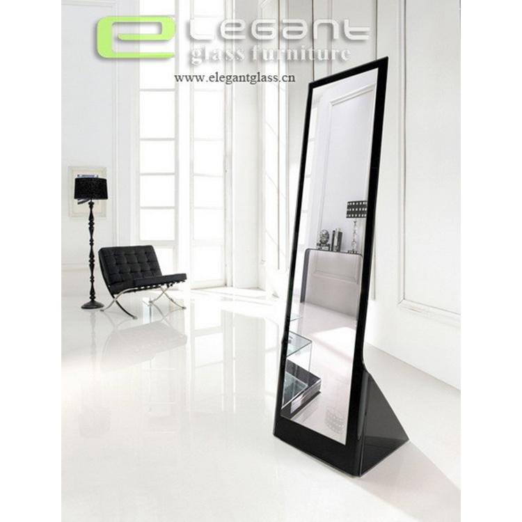 China Black Gl Full Length Mirror In Bedroom Decorative