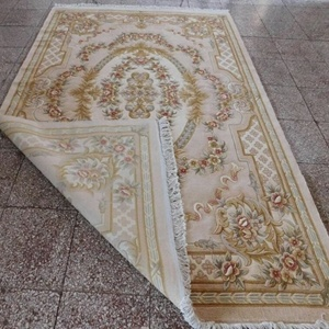 Hand Knotted Chinese Wool Silk Aubusson Designs Floor Carpet Rugs ...