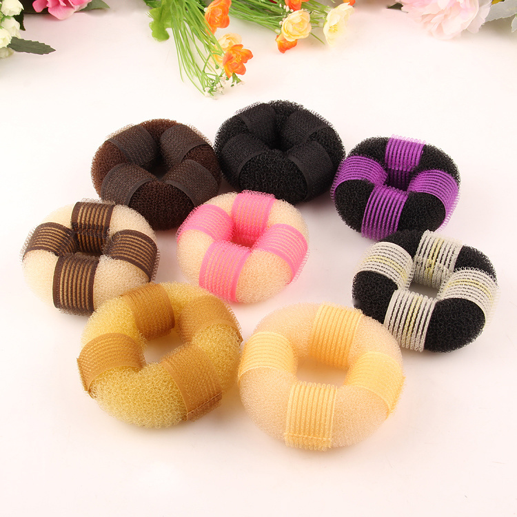 2017 The New Contrast Color Style Hair Donuts for Fashion Girl
