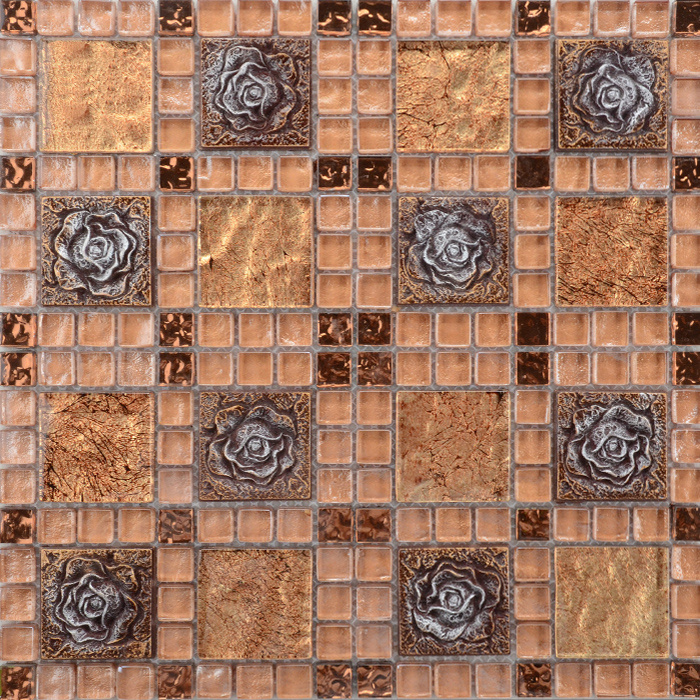 China Foshan Factory Whole Exquisitely Made Mosaic Tile Los Angeles Tiles Wall