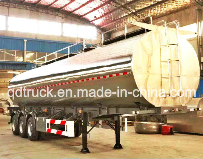Adr/DOT Certificate Oil Tanker Trailer, Aluminium tank trailer pictures & photos