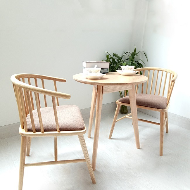 [Hot Item] Modern Wood Dining Chair for Restaurant Cafe Furniture