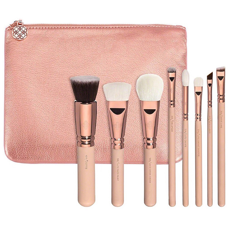 a09085bc31f6 [Hot Item] Wholesale 8PCS Luxury High Quality Professional Face Makeup  Brush Set