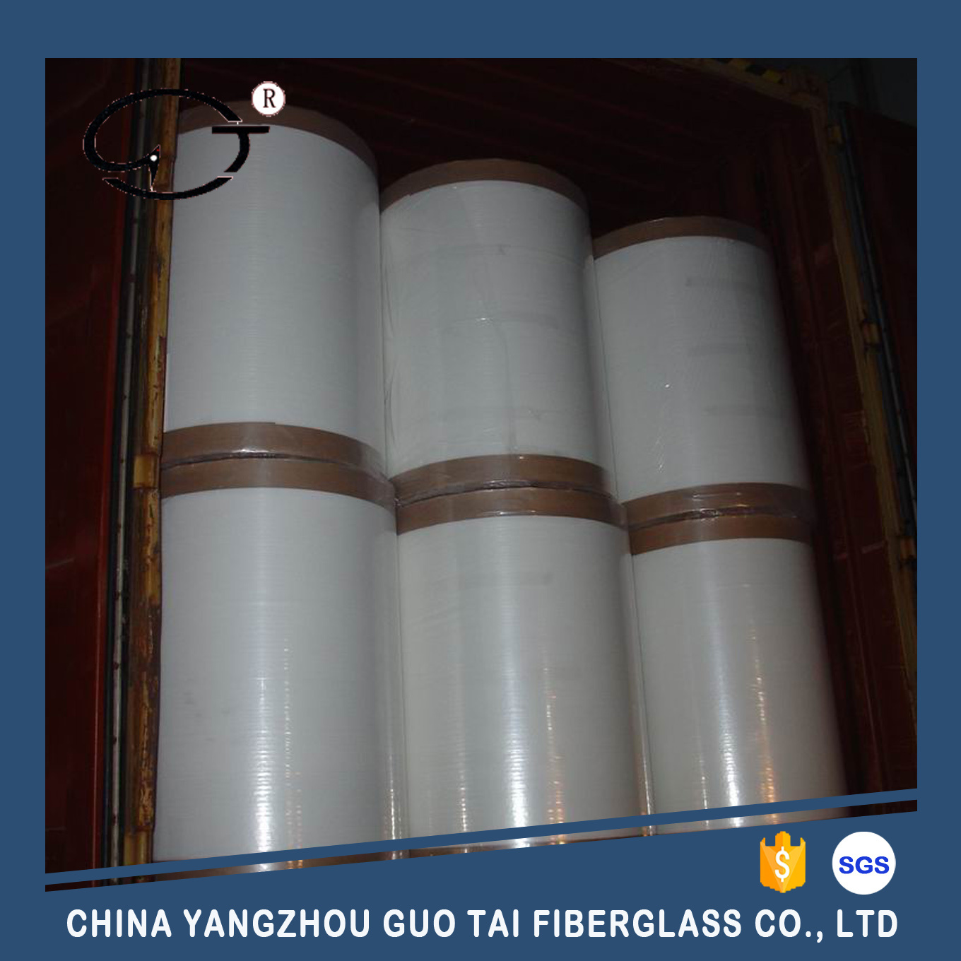 Fiberglass Roofing Tissue with Reinforced Yarn pictures & photos