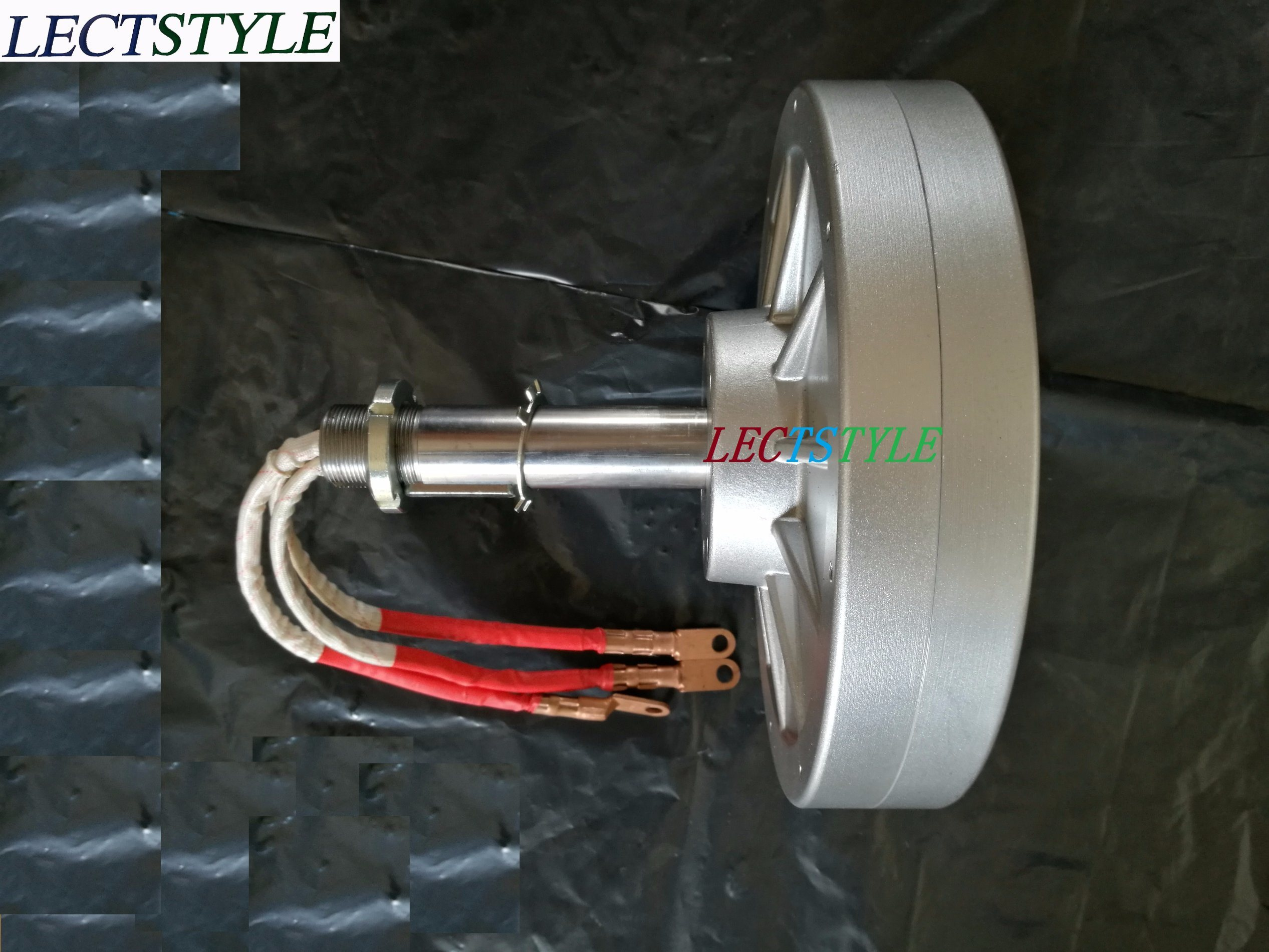 Pmg450 1kw 220VAC 130rpm Vertical Axis Wind Turbine Disc Coreless Low Rpm Three Phase Permanent Magnet Generator pictures & photos