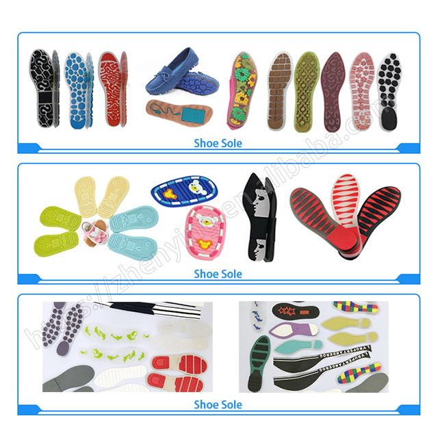 Produce manufacture rubber shoes