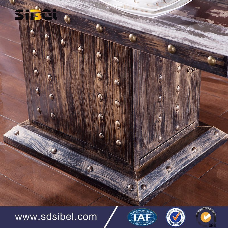 2017 Whole Sale Antique Dining Table for Restaurant Sbe-CZ0631