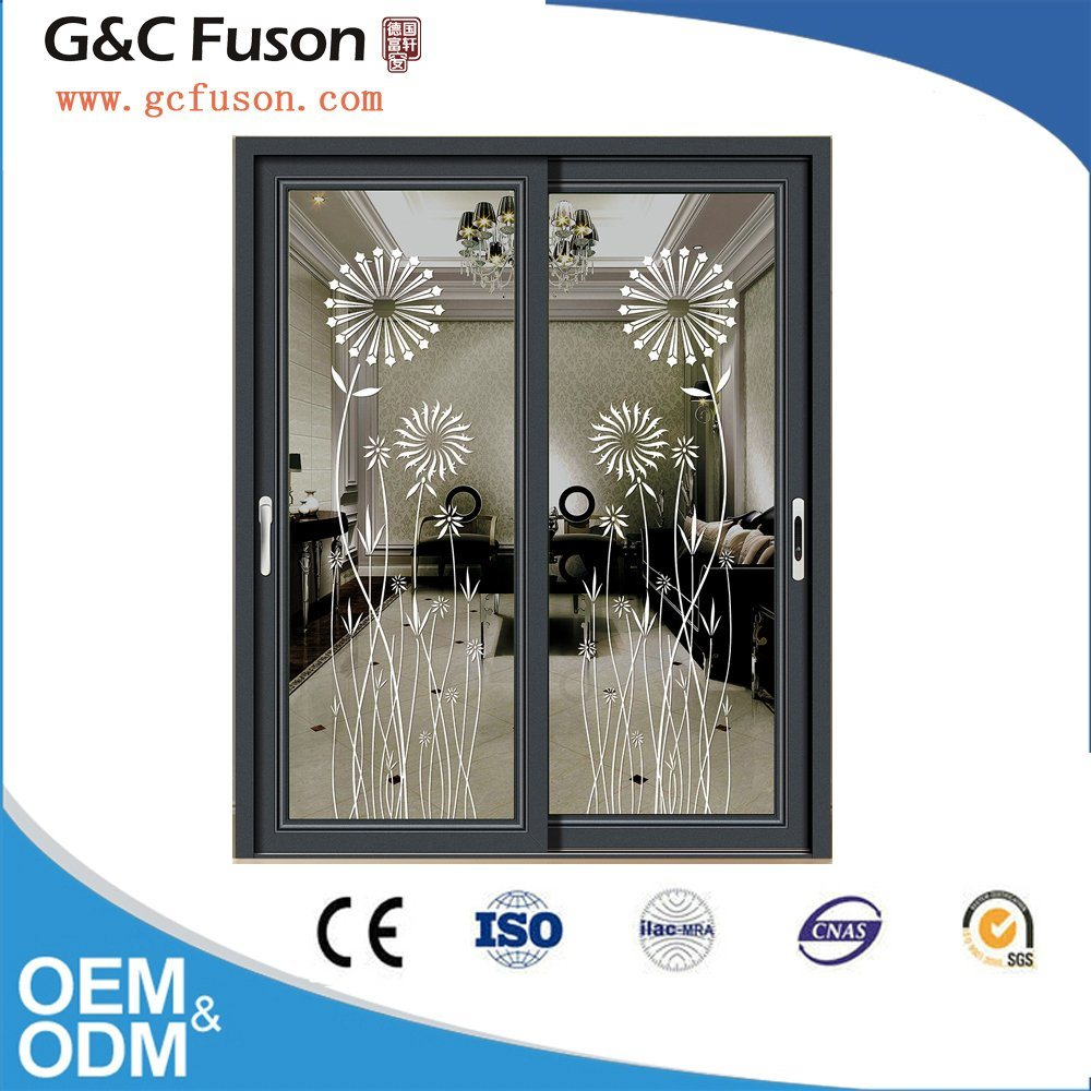 China Aluminium Sliding Door With Mosquito Net China Sliding Door