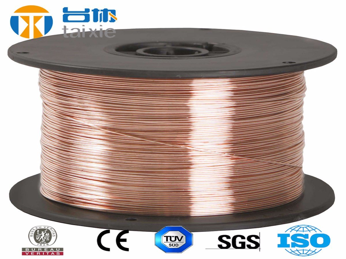 CO2 Gas Shielded Welding Wire Er70s-6, Wire Rod, Coil